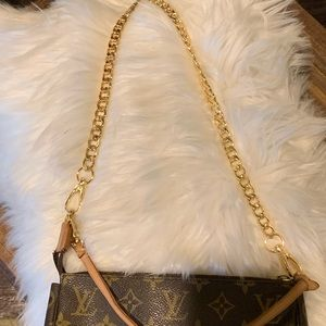 Handbag Gold Chain